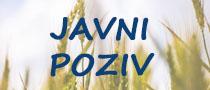 Javni poziv poljoprivredno zemljište 2017