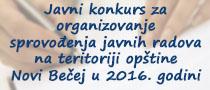 Javni radovi 2016