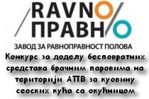 Konkurs za dodelu bespovratnih sredstava bračnim parovima na teritoriji AP Vojvodine za kupovinu seoskih kuća sa okućnicom