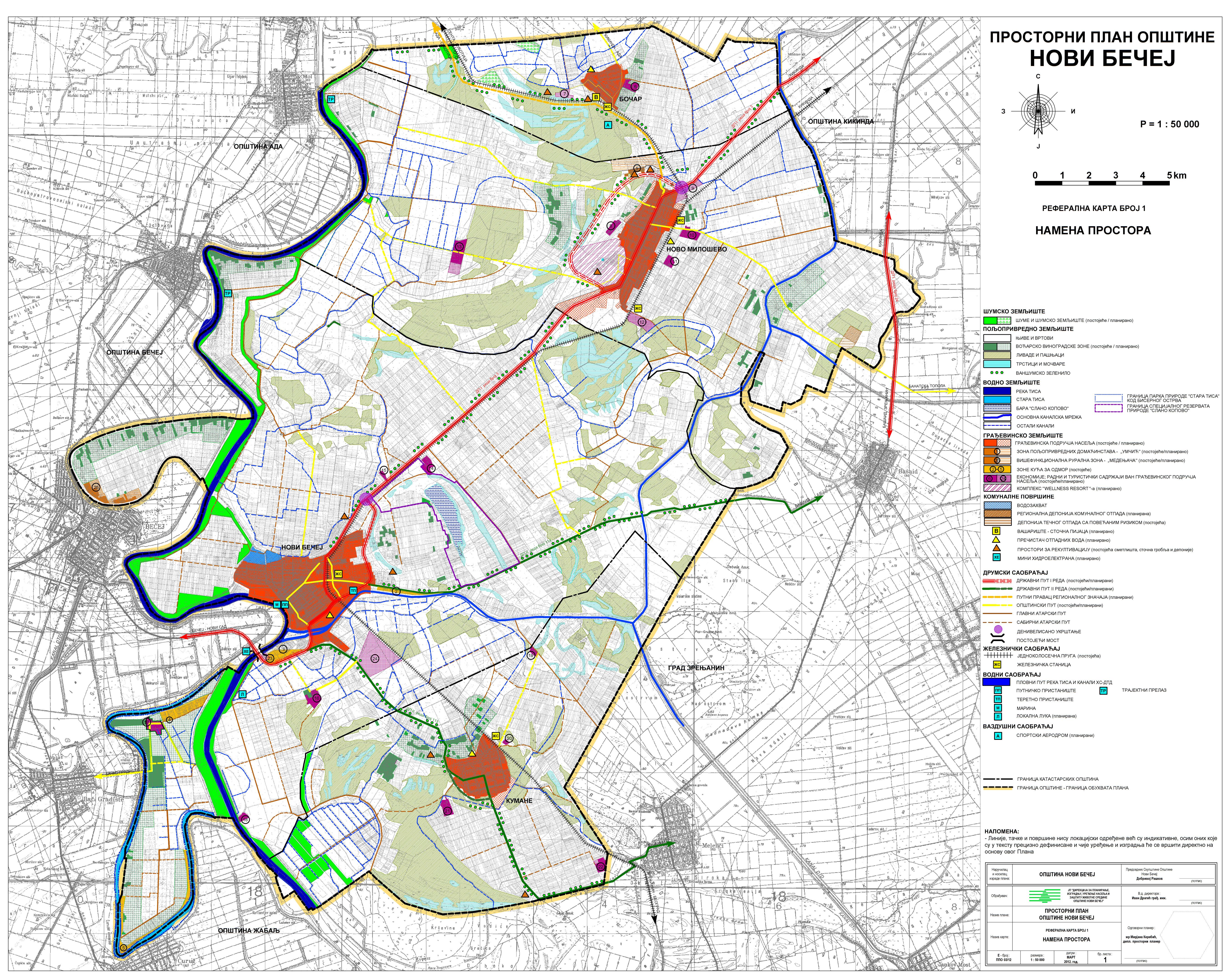 novi becej mapa Opština Novi Bečej novi becej mapa